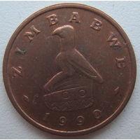 Зимбабве 1 цент 1990 г.  (g)