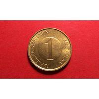 1 толар 1998. Словения.