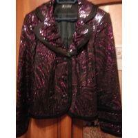 Красивый нарядный пиджак, р-р 56