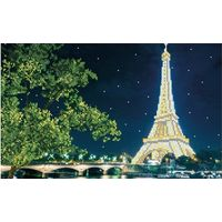 Схема к вышитой картине - Париж