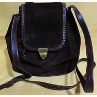 Замшевая элегантная молодёжная сумка (рука - плечо) Pierotucci (Италия)