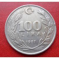 100 лир Турция 1987 года - из коллекции