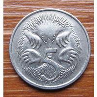 Австралия. 5 центов 1983 года