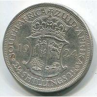 ЮЖНАЯ АФРИКА - 2-1/2 ШИЛЛИНГА 1924