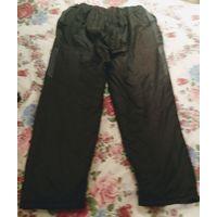 Утеплённые болоневые штаны мужские