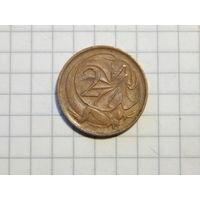 Австралия 2 цента 1971
