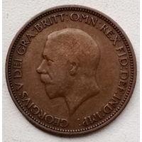 Великобритания 1/2 пенни 1936