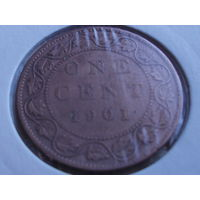 Канада 1 цент 1901