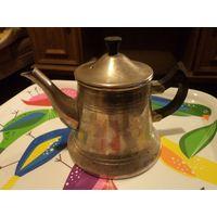 Чайник-заварник мельхиоровый