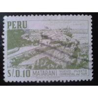 Перу 1953 городской ландшафт, Матарани