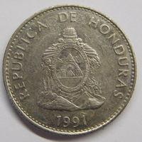 Гондурас 50 сентаво 1991 г