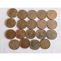 Монеты Арабские эмираты с рубля.