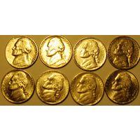 5 центов США Список