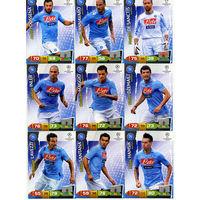 Коллекция PANINI Лига Чемпионов УЕФА 2011-2012. Adrenalyn XL // Napoli // Cannavaro