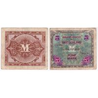 Германия 5 марок 1944 года (оккупация)
