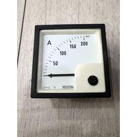 Амперметр Weigel PQ72K 200A/60mV PQ72RS (66x66mm)