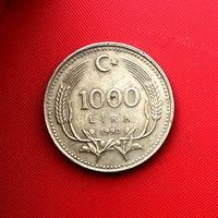 58-06 Турция, 1000 лир 1990 г.