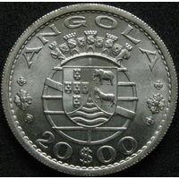 Порт. Ангола 20 эскудо 1955 СЕРЕБРО (41)