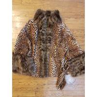 Шуба-куртка 2 в 1, двусторонняя