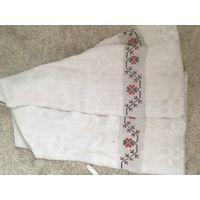 Рушник лен небеленый