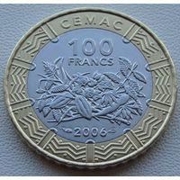 Центральная Африка. 100 франков 2006 год  KM#15