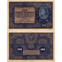 100 марок 1919, Польша, Polska Krajowa Kasa Pozyczkowa