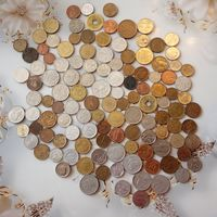 Монеты разных стран и времен 120 шт.    14