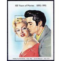 1995 Montserrat 924 / B69 100 лет кино 6,00евро