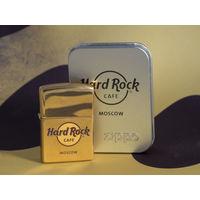 Колекционная Zippo Hard Rock Cafe Moscow 2006г