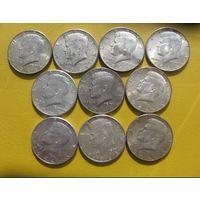 Half dollar  50 cent. 1964г. Ag 900