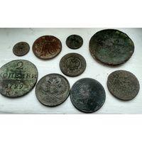Лот интересных монет !! С рубля ! Не чистились !