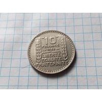 Франция 10 франков, 1948