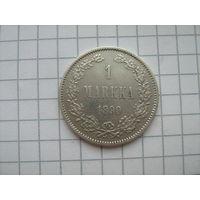 1марка 1890г.L.для финляндии
