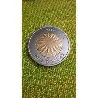 Остров Саба 5 долларов 2012 г