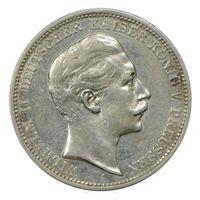 Германия (Пруссия), 3 марки 1908 год, -серебро-
