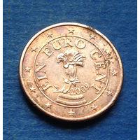 Австрия 1 евроцент 2009