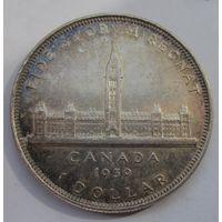 Канада, доллар, 1939, серебро