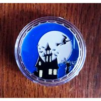 Хэллоуин монетовидный жетон 40 мм