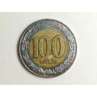 100 лек 2000 года. Албания. Монета А2-1-8
