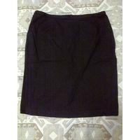 Черная юбка р.46