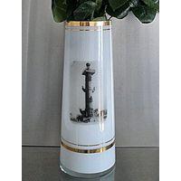 Ваза Ростральная колонна на косе Васильевского острова (молочного стекло, СССР)