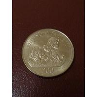 Танзания 200 шиллингов 2008