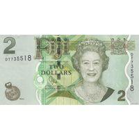 Фиджи 2 доллара 2011 (UNC)