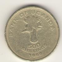 500 шиллингов 1998 г.