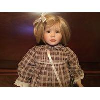 Кукла Коллекционная Характерная 60 см Германия фарфор