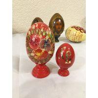 Яйцо пасхальное  Алые зори (2 штуки)