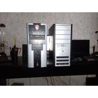 2 системника Intel и AMD