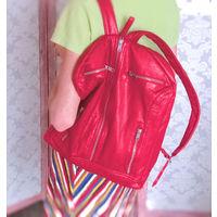 Стильный яркий рюкзак