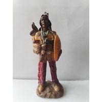 Статуэтка Индеец 13 см.(1).