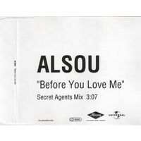 "Alsou (Алсу) ""Befor You Love Me"" CDr, Promo Single"